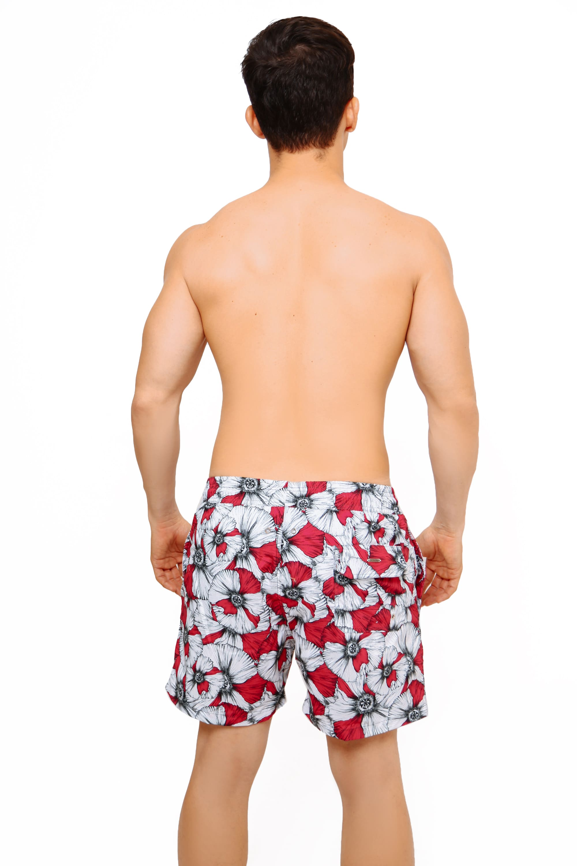 SWIMSHORTS FLOWERY MEN