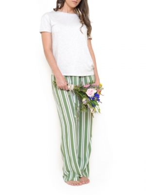Pijama Pantalón Verde Santolina en Atizz.com