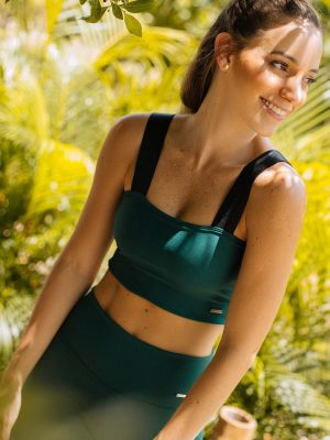 Emerald Elastic Top biker Mar de lua en Atizz