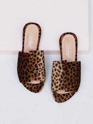 Zapatos Danna Flats Animal Print Jessi Caballero en Atizz