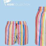 Pantaloneta Color Lines para niño redflag en Atizz