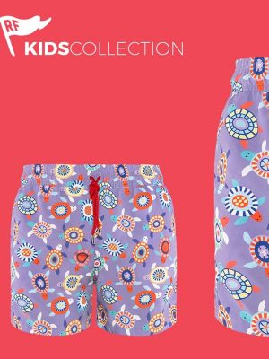 Pantaloneta Nayarit para Niño RedFlag en Atizz