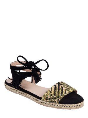 Zapatos Ruby Black Palm Tahishoes en Atizz